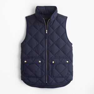 J. Crew Jackets & Coats - J Crew excursion quilted down vest large